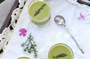 creamy asparagus lemon amp coconut milk soup recipe dairy free ...