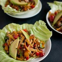 Sweet Corn Salad Wraps — Punchfork | Salads | Pinterest