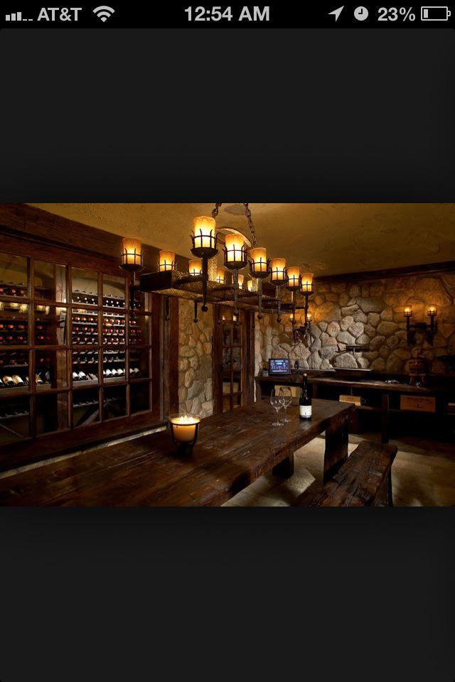 basement bar cellar the wine cellar pinterest