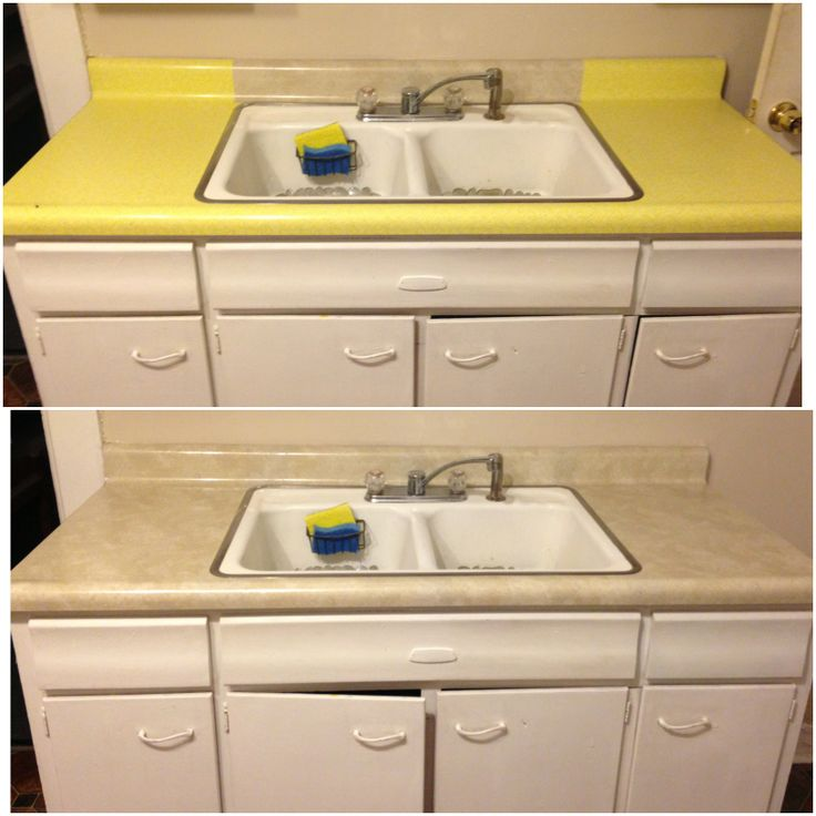 ... fix. Contact Paper/Shelf Liner to cover ugly countertops. Winning