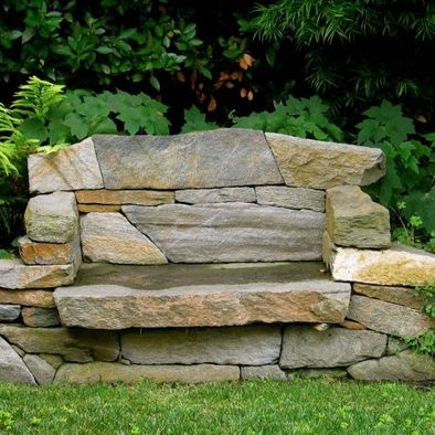 Stone Bench Love It Pinterest