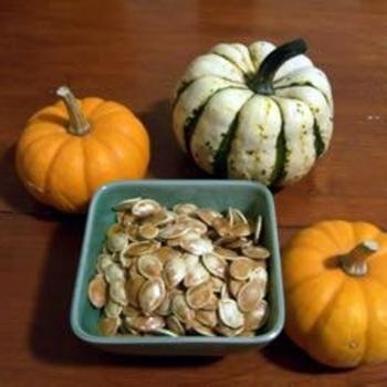 Toasted Pumpkin Seeds | water falls and rainbows | Pinterest