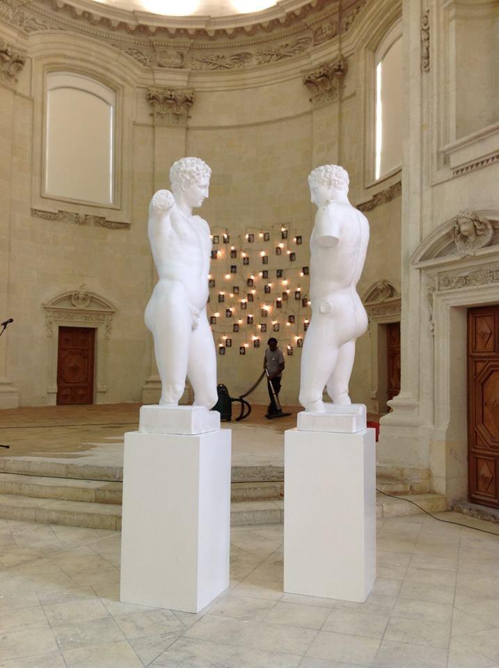 Der ausstellung les messages de l art im musée des beaux arts