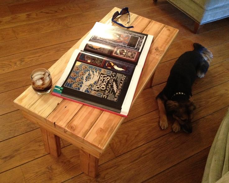 Coffee table ideas man cave basement reno pinterest for Man cave coffee table ideas