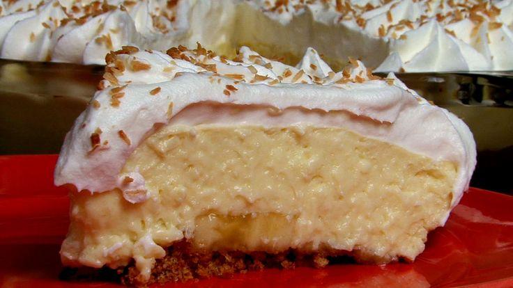 Banana Coconut Crème Pie | Pie | Pinterest