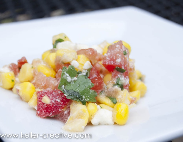 Corn & Feta Salsa | Food | Pinterest