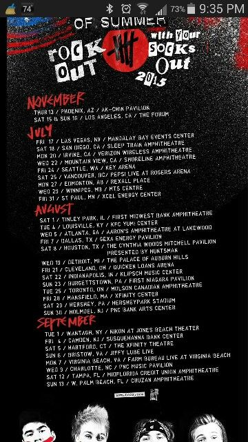 2016 merch tour shirt more merch tour slfl 2016 5sos daughter 2016
