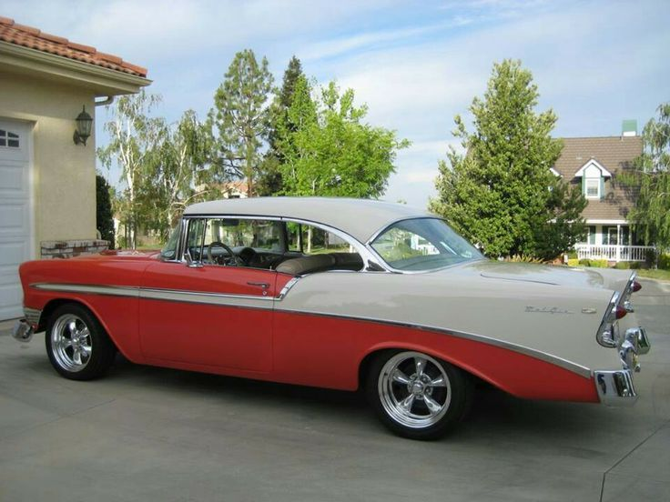 Sweet '56 Chevy... | Sweet Old Cars & Long Roof Wagons | Pinterest