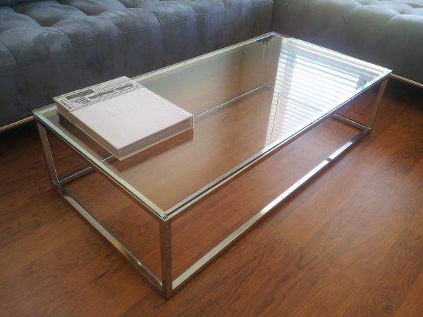 FABULOUS GLASS COFFEE TABLE! (CB2) | Living Room Furniture | Pinterest