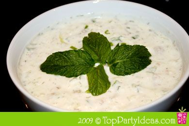Yogurt Cucumber Dip | Dip recipes | Pinterest