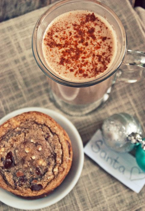Chocolate bourbon eggnog | Drinks | Pinterest