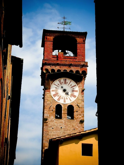 Clock Tower in Tuscany