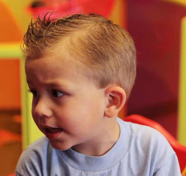 Galerry boy haircut mohawk