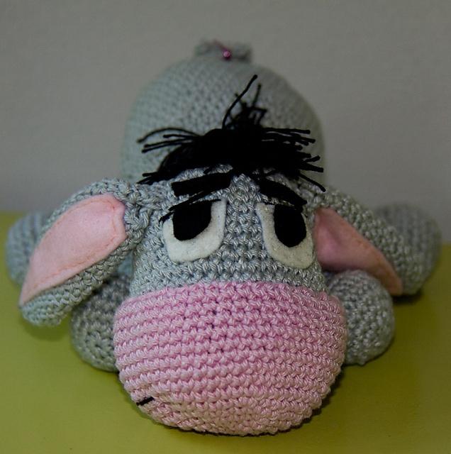 Crochet Amigurumi Eeyore : Eeyore - the Winnie the Pooh friend - amigurumi doll ...