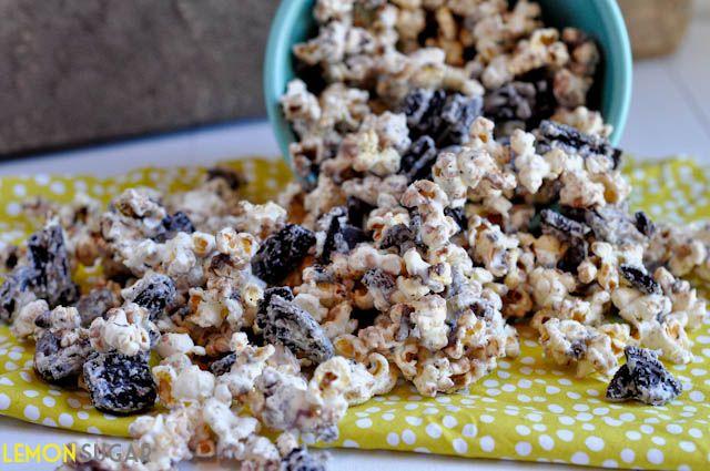 Cookies & Cream Popcorn - Lemon Sugar