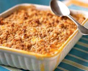 Mango Macadamia Nut Crisp | Recipes to Try -- Sweet/Cheats | Pinterest