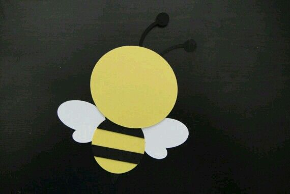 Bee cut out | Bumblebee party | Pinterest