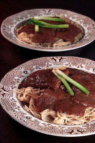 Ginger Scallion Beef With Noodles | @ Kokken Alle Rezepte aus diesem ...