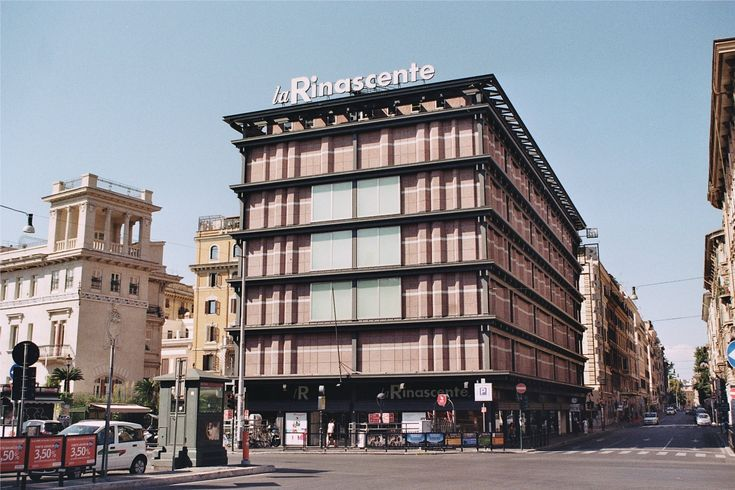 la rinascente rome no 23 design exterior pinterest