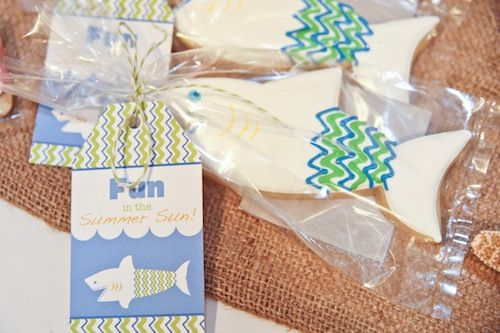 The perfect party favor for a summer pool party. #summer #pool #party