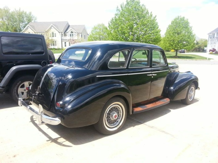 1940 pontiac silver streak 4 door sedan cars pinterest