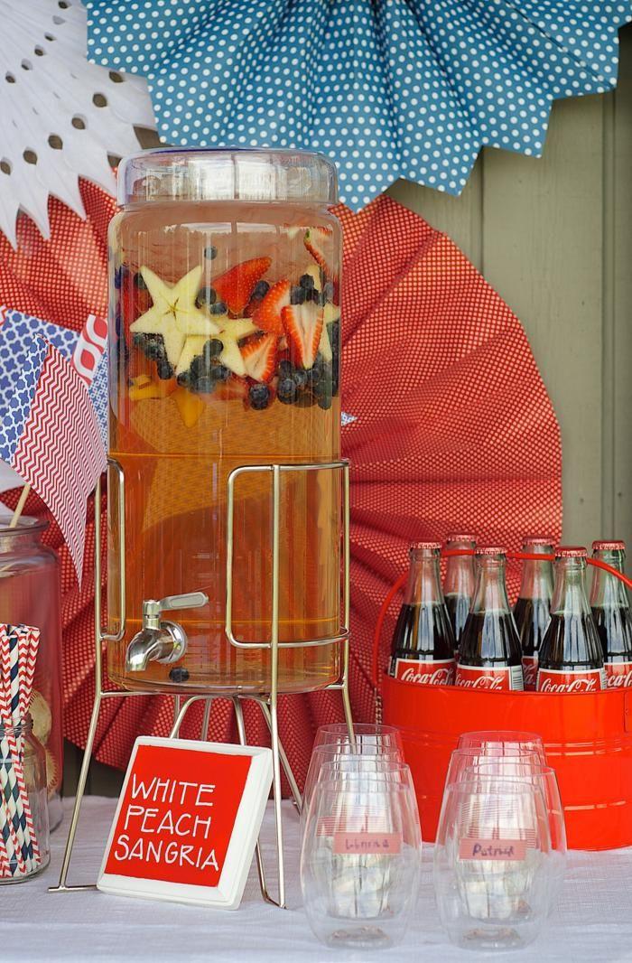 4th of july party via kara 39 s party ideas outdoor patriotic july