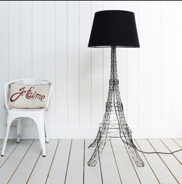 eiffel tower floor lamp cool stuff for the home pinterest. Black Bedroom Furniture Sets. Home Design Ideas