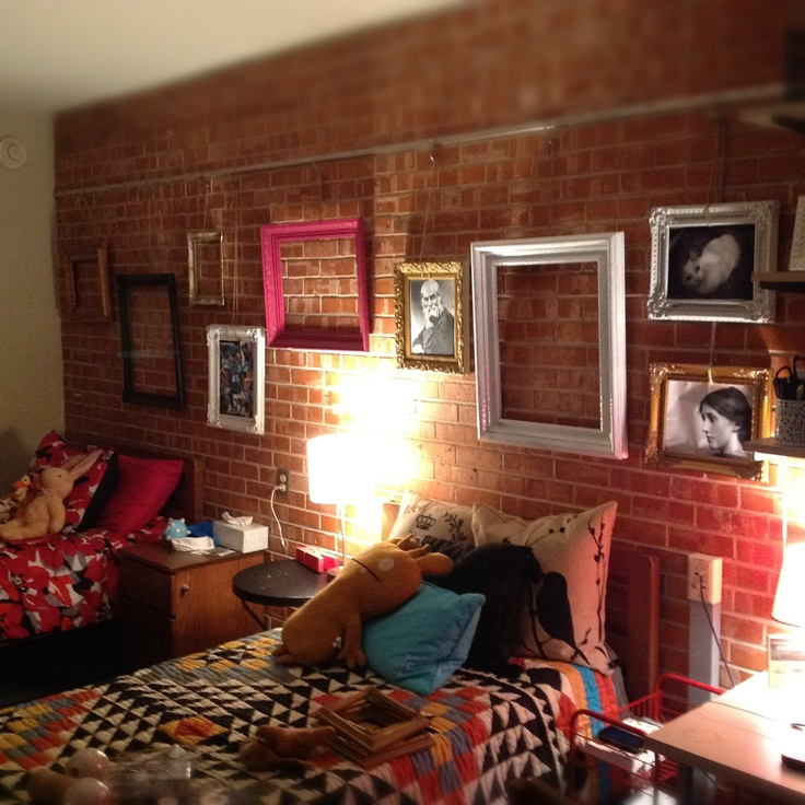 Dorm Room Brick Walls