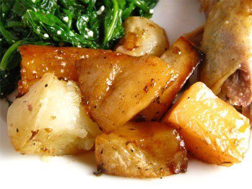 Lemon Roasted Potatoes | Veggie and Vegan Cusine | Pinterest