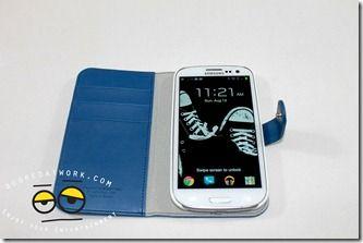 SPIGEN SGP Samsung Galaxy SIII Leather Wallet Case Valentinus  Review