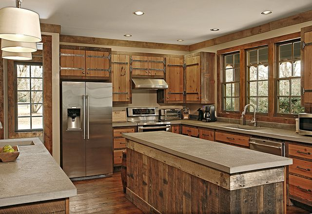 Farmhouse Kitchen Overview 1 These Kitchen Cabinets Were Built From