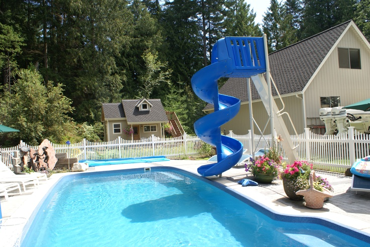 Playhouse and pool home ideas pinterest for Pool designs under 50 000