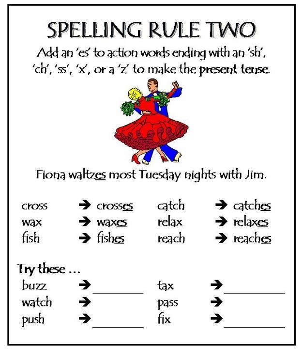 Spelling rule 2 miscellaneous tables pinterest