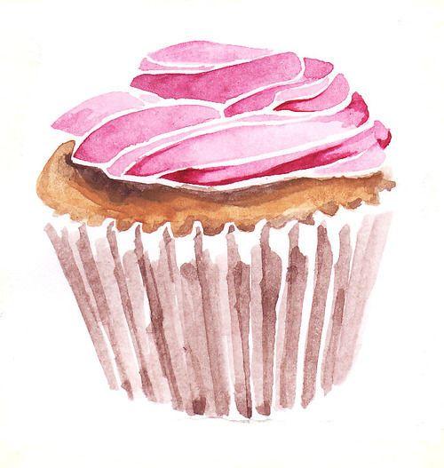 cupcake drawing cupcakes. Pinterest