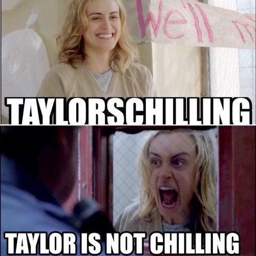 #oitnb Piper / Taylor Schilling