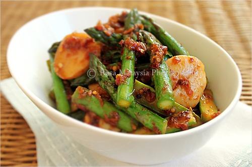 Sambal Asparagus Recipe