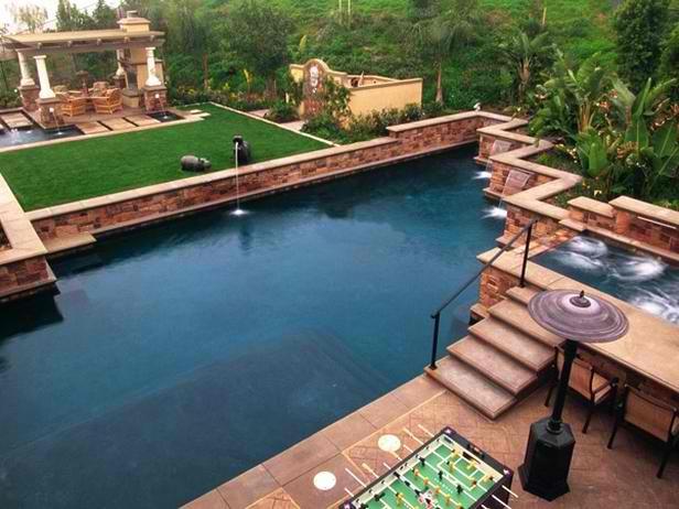would make a nice backyard  Good Earth Plunge  Pools  Pinte