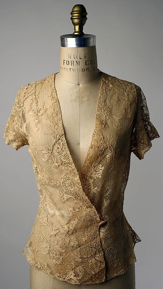 Bed jacket  Date: 1923–25 Culture: French