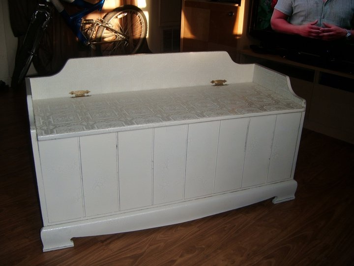 Chest shabby chic after   Repurposed Furniture   Pinterest