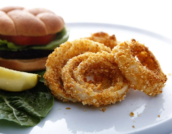 crispy baked onion rings | Bake-Aholic | To Do List - Other food | Pi ...