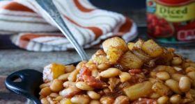 Pineapple Bacon Baked Beans | foooooood | Pinterest