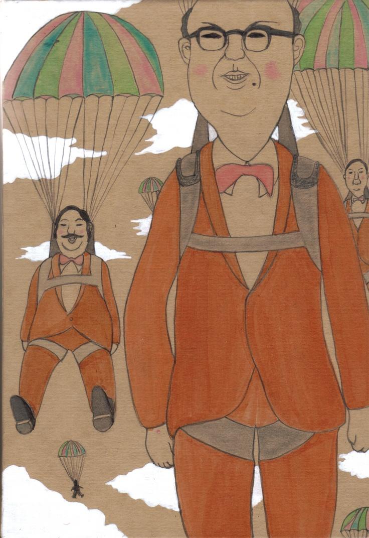 パラシュート部隊 パラシュート部隊 More Illustrations  パラシュート部隊