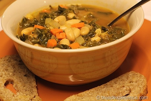 Cannellini Bean and Kale Soup | Food - Soups & Stews | Pinterest
