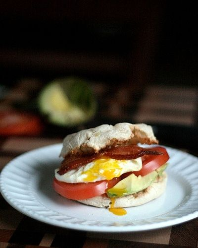 Avocado, Bacon and Egg Sandwich. | Stuff to Try | Pinterest
