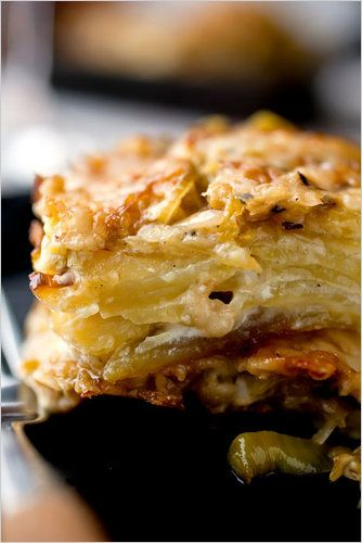 cod leek and potato gratin recipes dishmaps tomato leek potato gratin ...