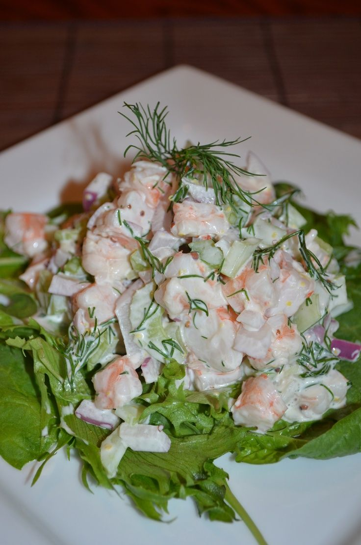 Fresh Shrimp Salad 15 #Healthy #Shrimp #Salads | Yummy Recipes