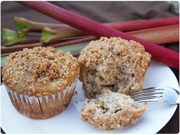 Rhubarb Cinnamon Streusel Muffins | Food | Pinterest
