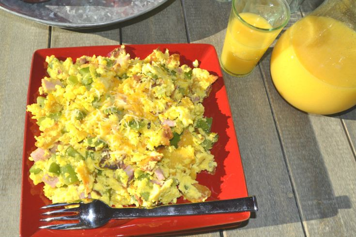 Tex Mex Migas | Breakfast | Pinterest