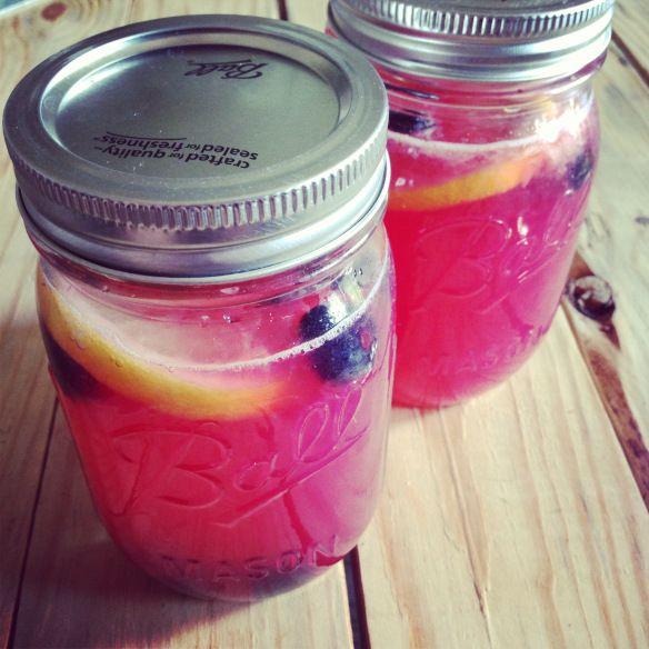 Fresh Blueberry Lemonade   Drinks   Pinterest