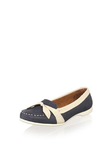 38% OFF Sebago Women's Felucca Bow Loafer (Navy/Linen